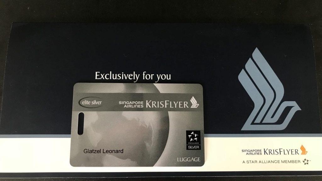KrisFlyer Elite Silver Welcome