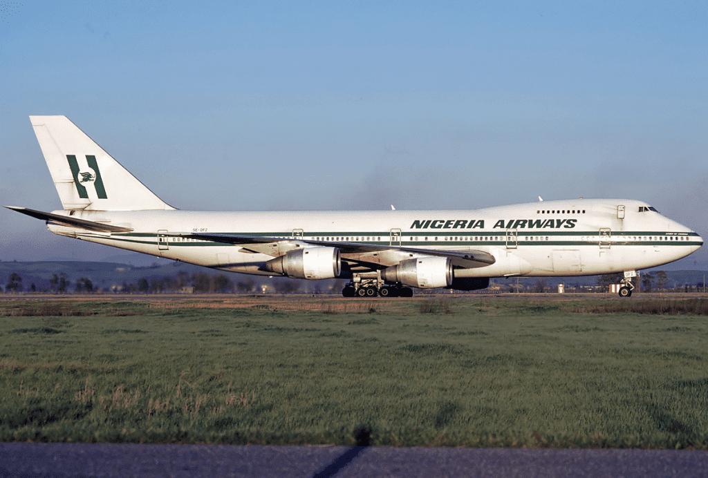 Nigeria Airways Boeing 747 200