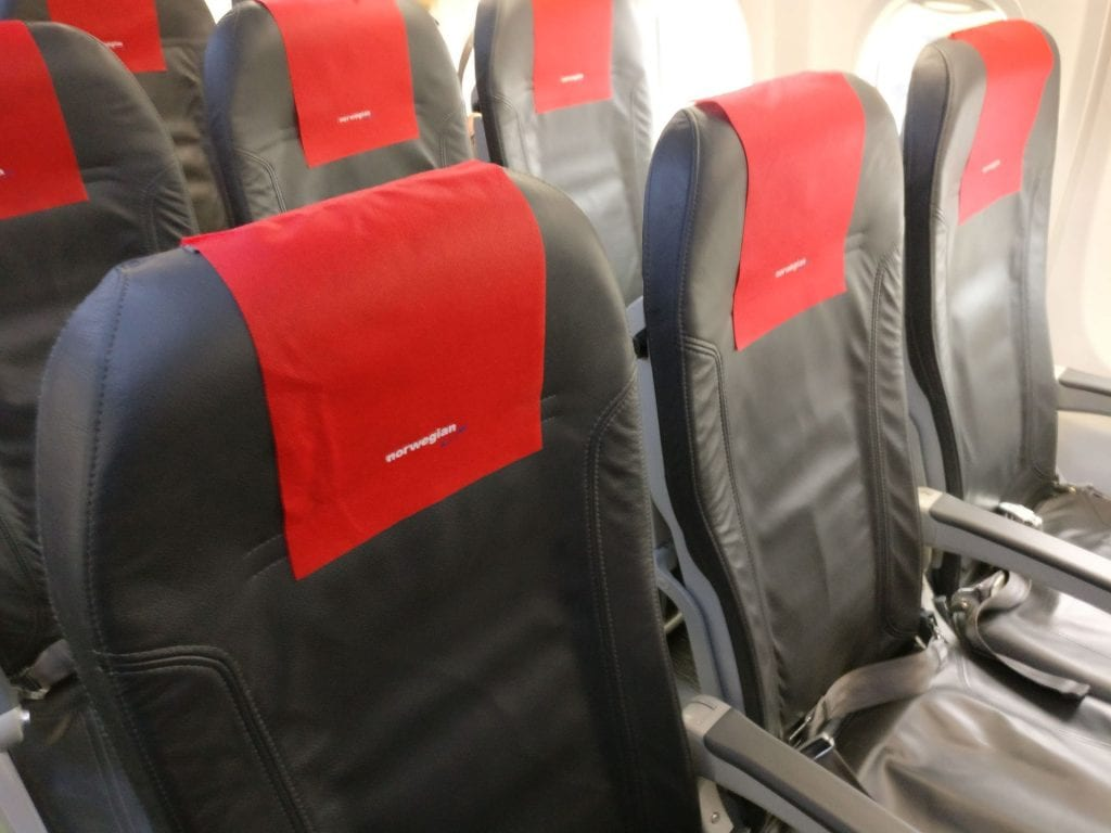 Norwegian Economy Class Seating 2