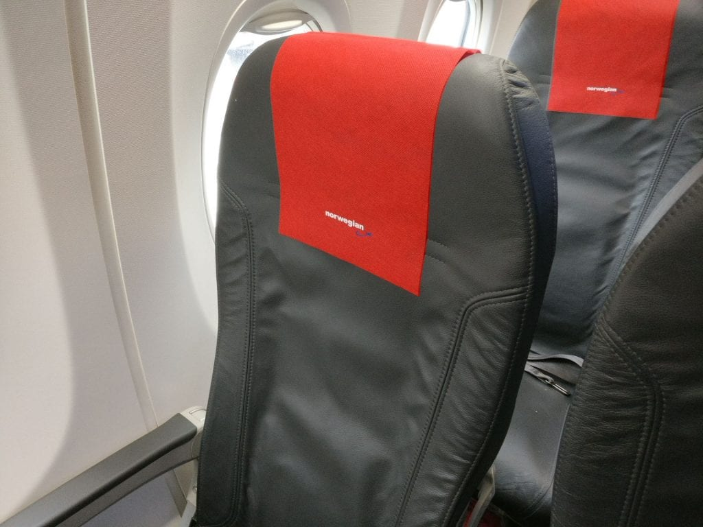 Norwegian Economy Class Seating 3