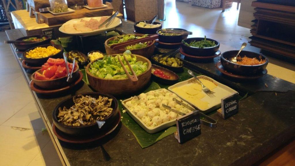 Novotel Bali Benoa Breakfast