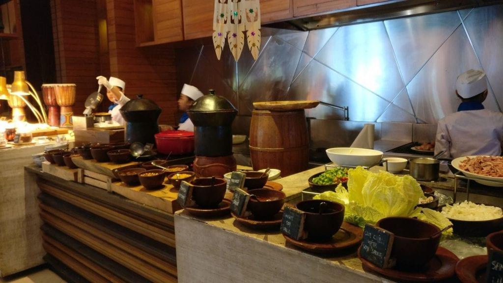 Novotel Bali Benoa Frühstück