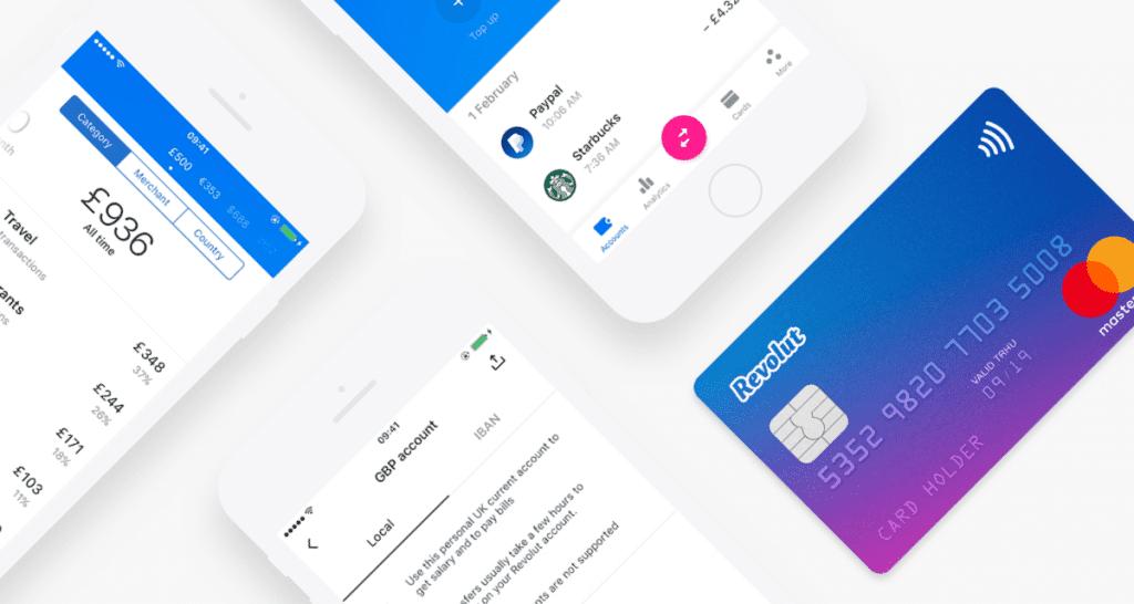 Revolut MasterCard und App