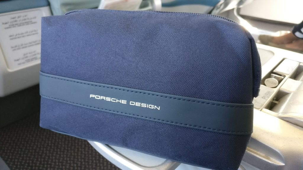 Saudia Business Class Airbus A320 Amenity Kit