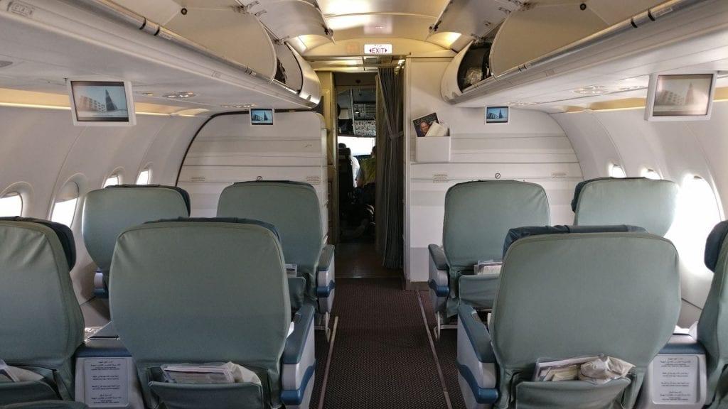 Saudia Business Class Airbus A320 Sitz 4
