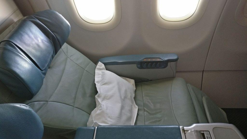 Saudia Business Class Airbus A320 Sitz 5