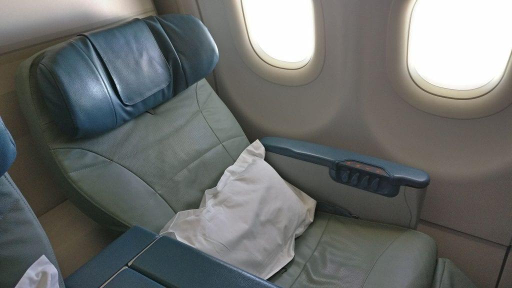 Saudia Business Class Airbus A320 Sitz 6