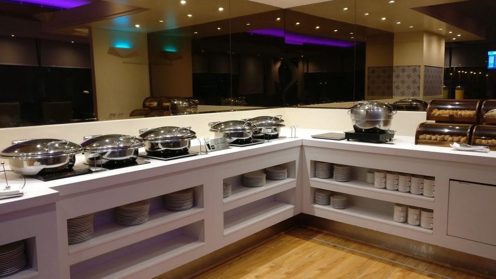 Saudia Lounge Dschidda Buffet 5
