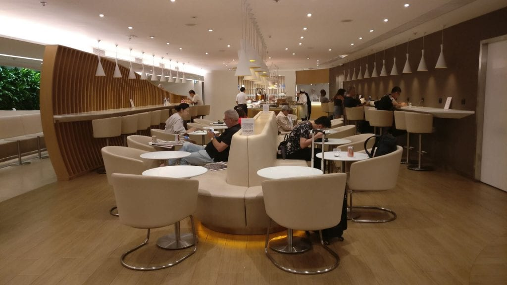 SkyTeam Lounge Hongkong