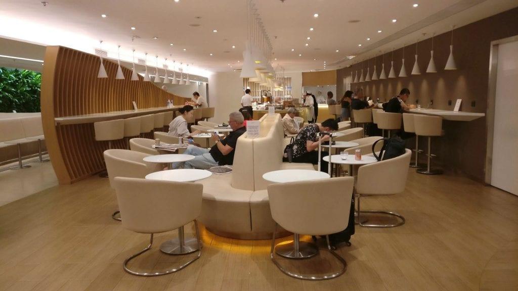 SkyTeam Lounge Hongkong 2