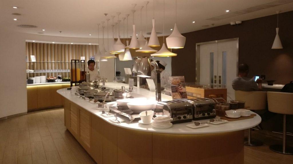 SkyTeam Lounge Hongkong Buffet 4