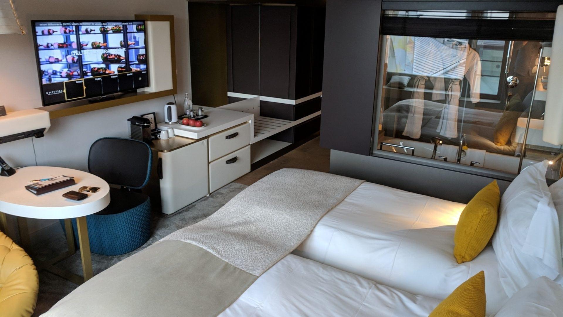 Sofitel München Bayerpost Luxury Zimmer