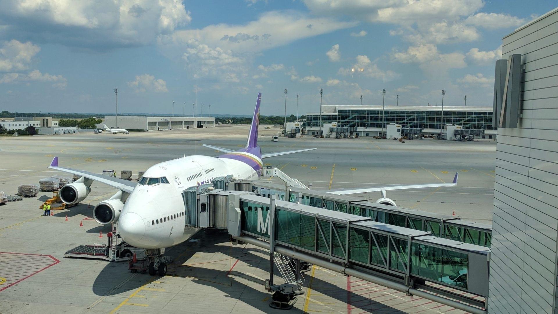 Thai Airways Boeing 747 München