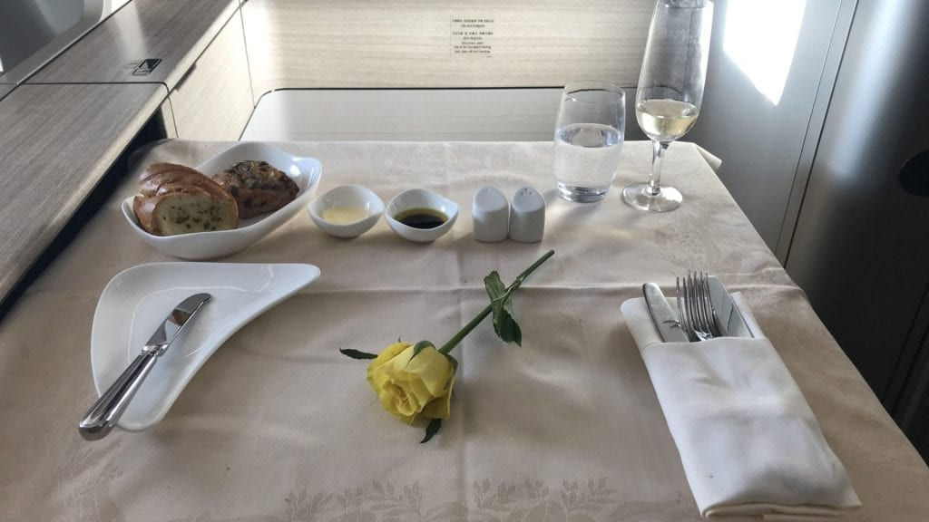 Asiana First Class Airbus A380 Blume