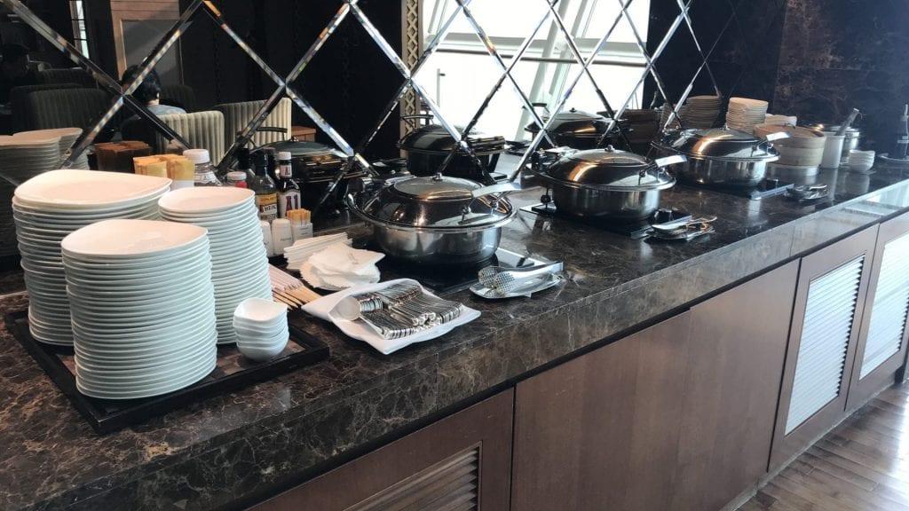 Asiana First Class Lounge Seoul Essen 3