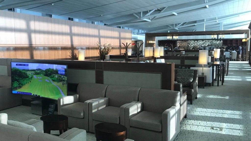 Asiana First Class Lounge Seoul Layout