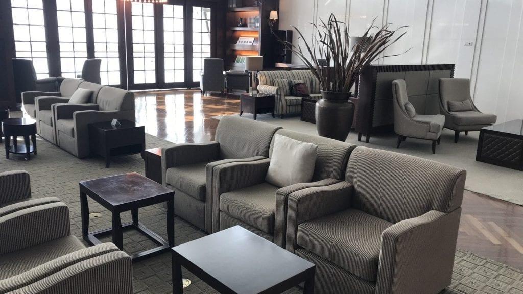 Asiana First Class Lounge Seoul Sitzgelegenheiten