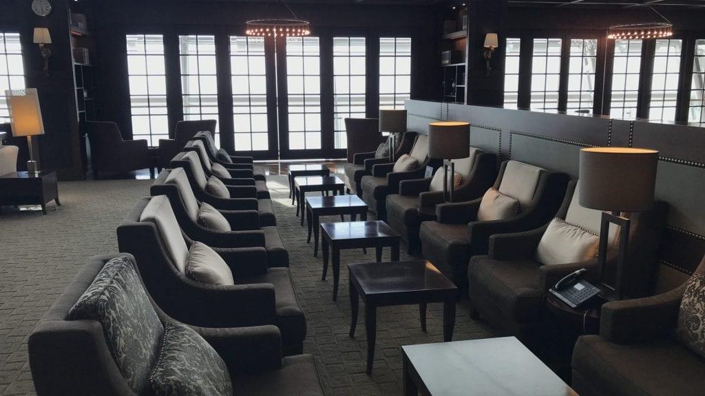 Asiana First Class Lounge Seoul Sitzgelegenheiten 2