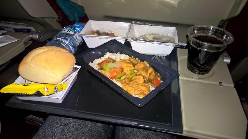 Etihad Economy Class Airbus A330 Essen 3