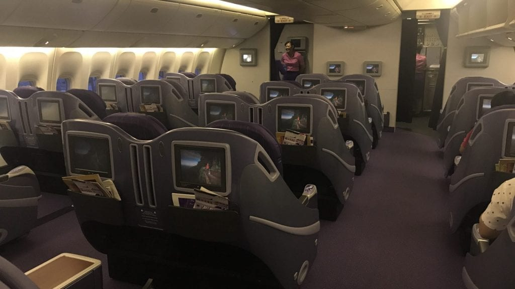 Thai Airways Regional Business Class Boeing 777 3