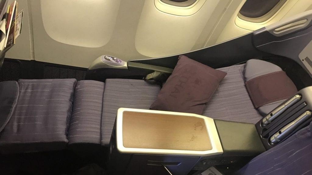 Thai Airways Regional Business Class Boeing 777 4