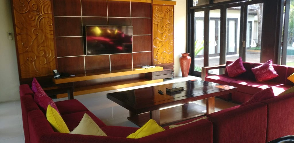 Amarterra Villas Bali Nusa Dua Villa Living Room 2