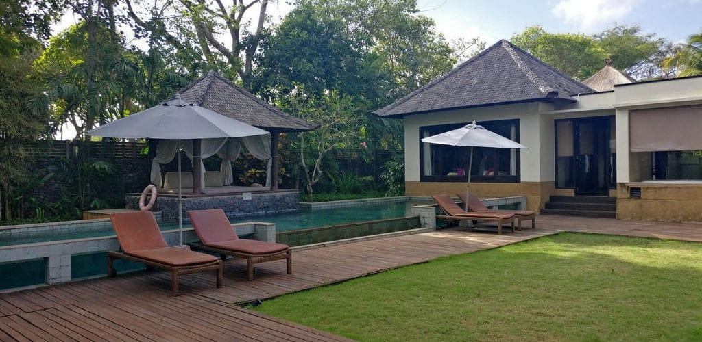 Amarterra Villas Bali Nusa Dua Villa Pool 2