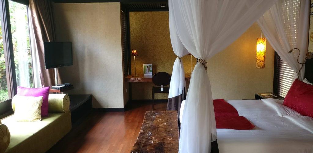 Amarterra Villas Bali Nusa Dua Villa Schlafzimmer