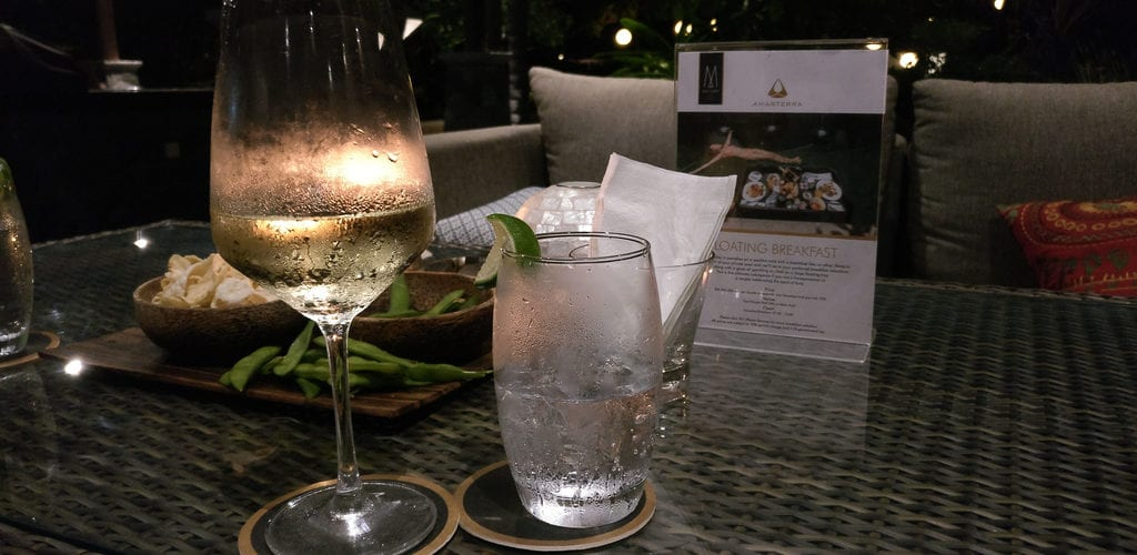 Amarterra Villas Bali Nusa Dua Welcome Drink