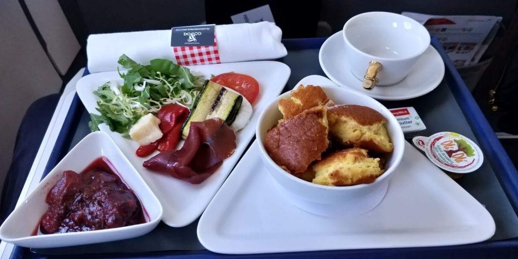 Austrian Airlines Business Class Kurzstrecke A320 Essen