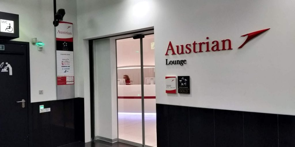 Austrian Airlines Business Class Lounge Wien Non Schengen Eingang
