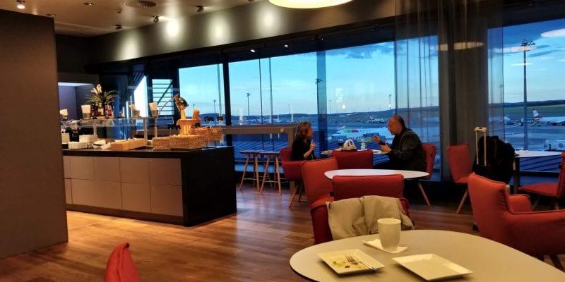 Austrian Airlines Senator Lounge Wien Non Schengen Raum