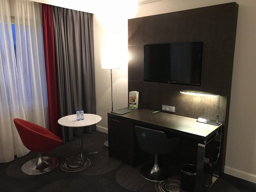 Hilton Bruessel Grand Place Deluxe Zimmer