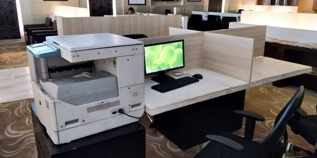 ITC Hotels Green Lounge Delhi Computer