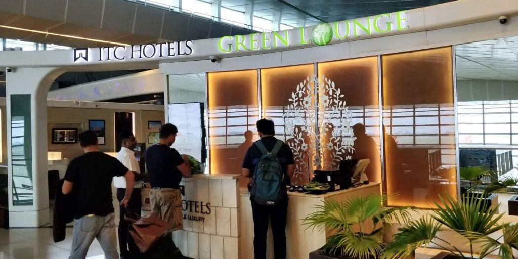 ITC Hotels Green Lounge Delhi Eingang