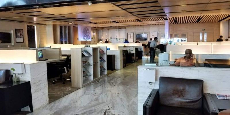 ITC Hotels Green Lounge Delhi Raum