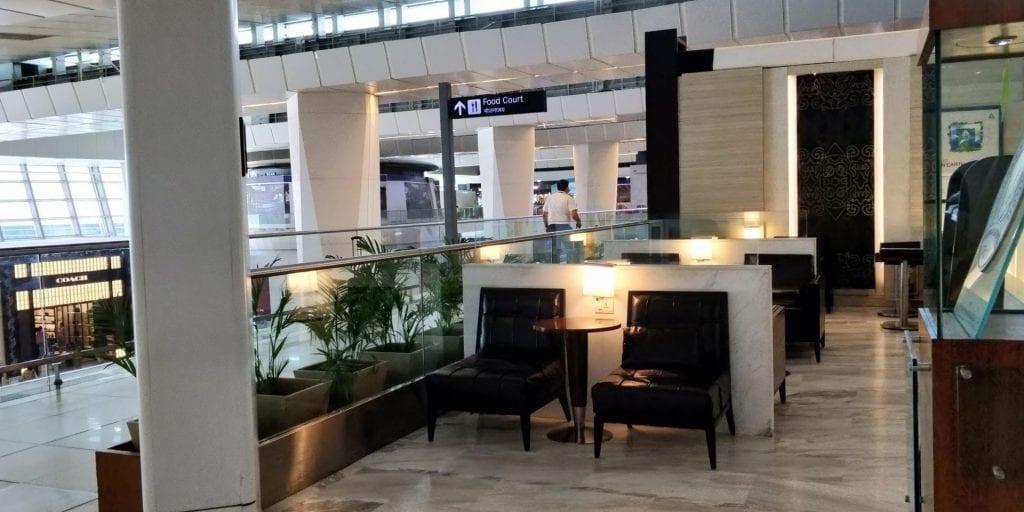 ITC Hotels Green Lounge Delhi Raum Eingang