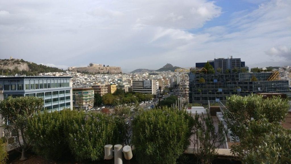InterContinental Athen Athenaeum Club Ausblick