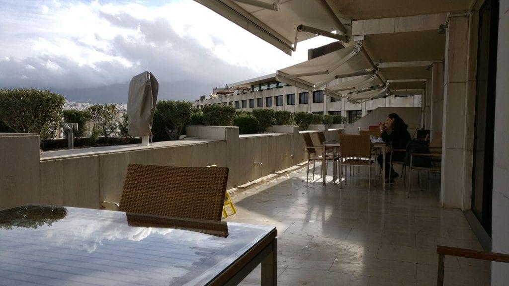 InterContinental Athen Athenaeum Club Terrasse