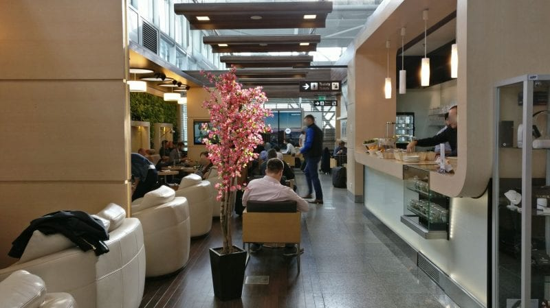 LOT Business Lounge Warschau