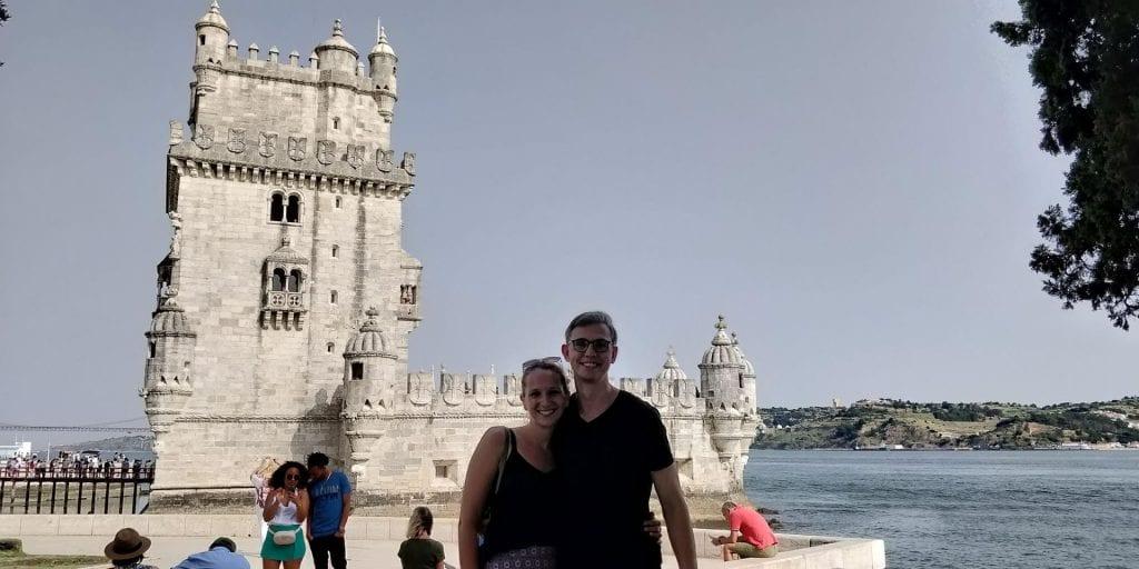 Moritz Mit Freundin In Lissabon