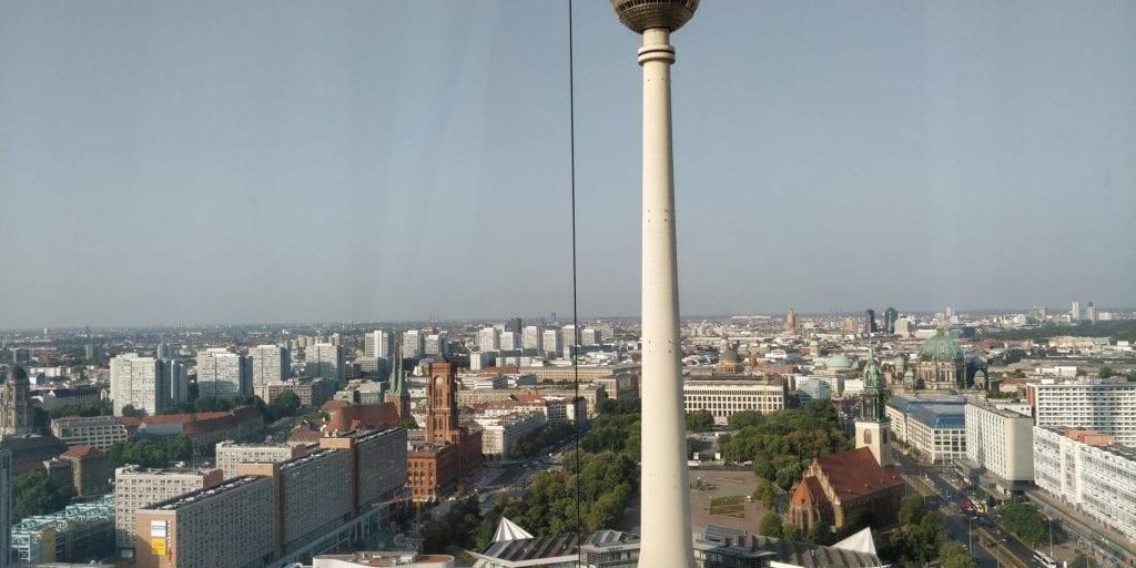 Park Inn Berlin Alexanderplatz Blick