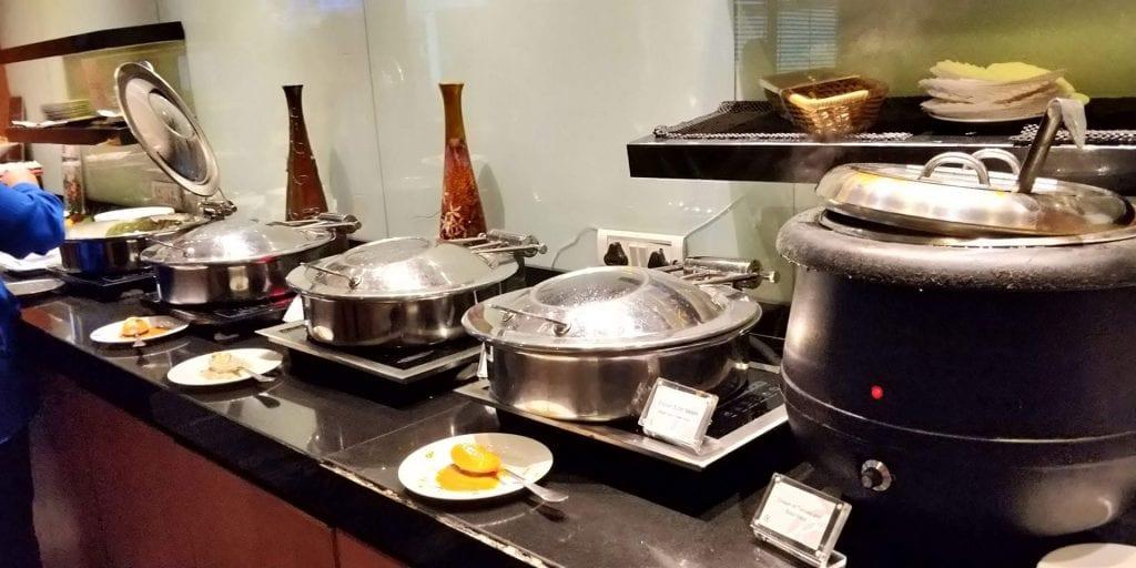 Plaza Premium Lounge Delhi Buffet