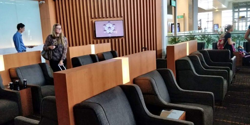 Plaza Premium Lounge Delhi Sessel