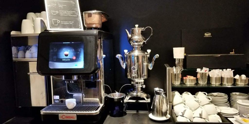 SKY Lounge Wien Buffet Kaffee
