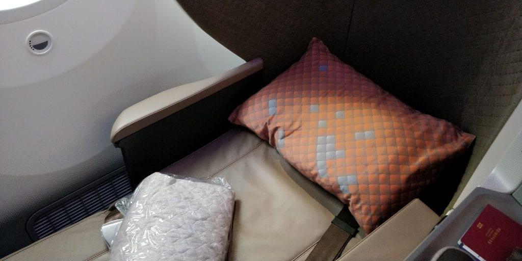 Singapore Airlines Business Class Boeing 787 10 Bett