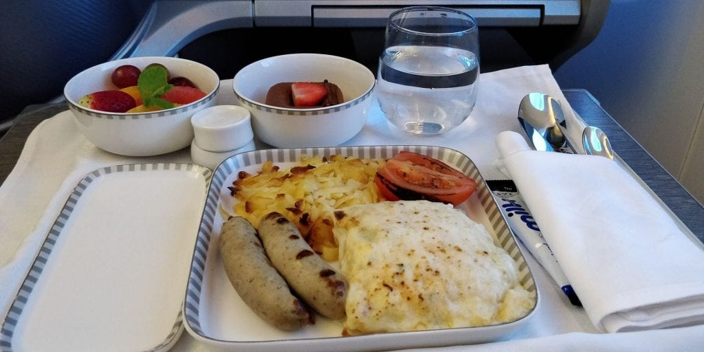 Singapore Airlines Business Class Boeing 787 10 Essen