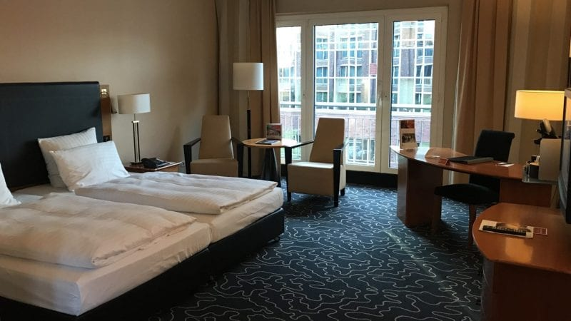 Steigenberger Hotel Hamburg Zimmer 1
