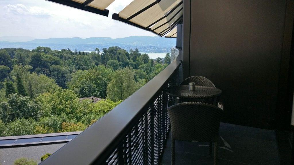 The Dolder Grand Zürich Deluxe Room Balcony 2
