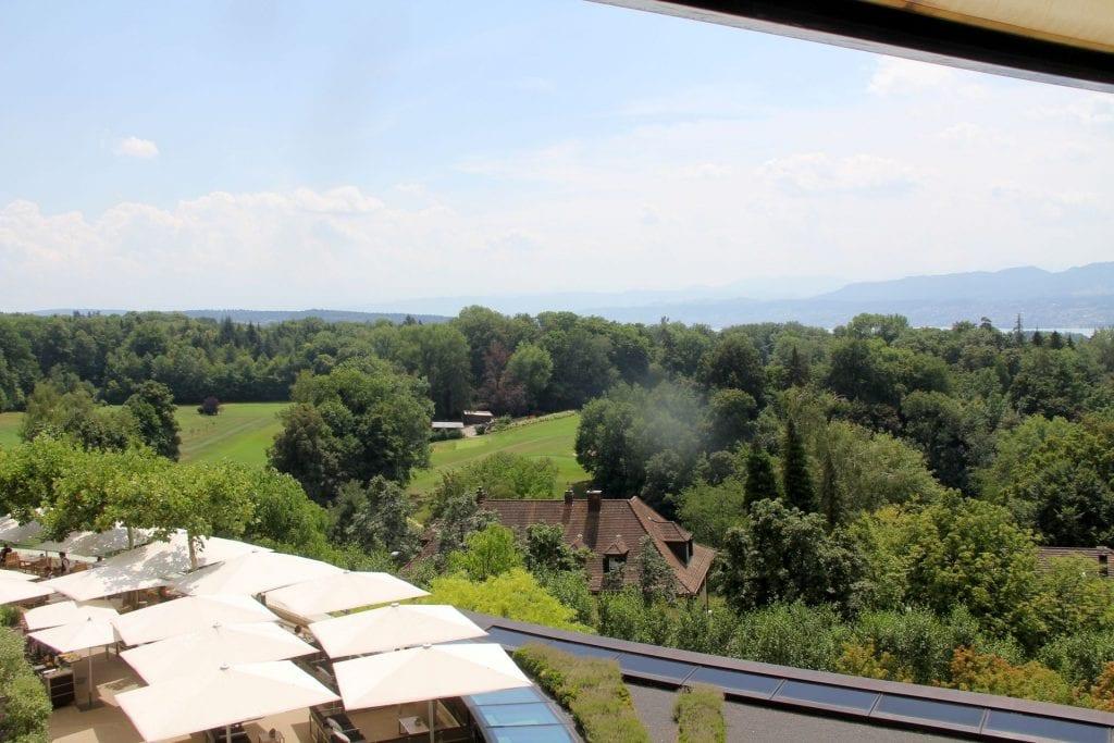 The Dolder Grand Zürich Deluxe Room View